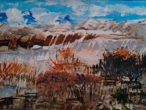 Atmospheric landscape by Kathleen Morrison