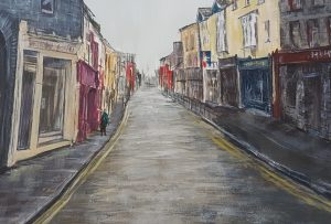Rachael King Painting of a Street