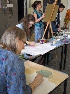 The Independent Art School's Painting for Pleasure Class